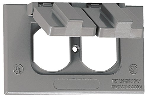 O-Z/Gedney WHD1 One-Gang Weatherproof Self Closing Cover ...