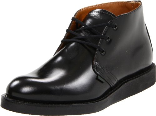 Red Wing Heritage Postman Chukka Boot,Black Chaparral,9.5 D(M) US (Chukka Wing Red)