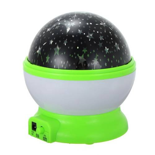 Rotating Star Night Projector.