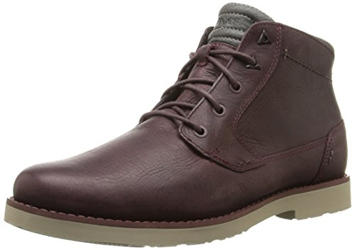 Leather M Men's Durban Teva Mahogany Boot qa7twyxO