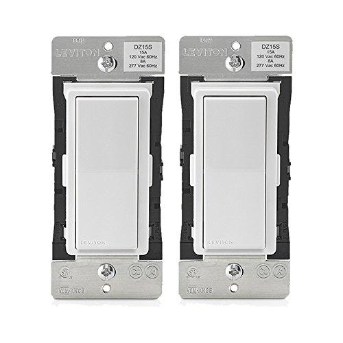 (Leviton DZ15S-1BZ Decora Smart Switch with Z-Wave Plus Technology (2 Pack))