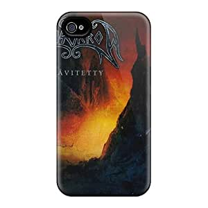 Marycase88 Iphone 4/4s Shockproof Cell-phone Hard Cover Custom Realistic Moonsorrow Band Pattern [qPx20029XhOO]
