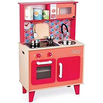 Janod macaron maxi cooker playset toys games for Cuisine janod macaron
