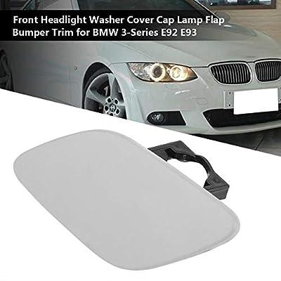 Qiilu Front Bumper Left Headlight Washer Nozzle Jet Cover Cap Lamp Flap Trim for BMW 3-Series E92 E93 6167 7171660: Automotive