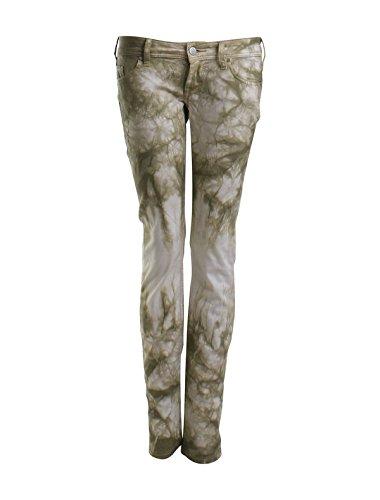 a6e1a8831de0 MUSTANG Damen Jeans Niedriger Bund 3588-5013 - Gina Skinny Damenstretch  Denim, Limette (