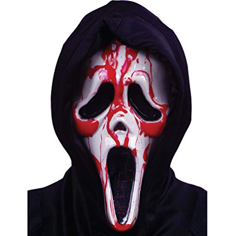 SCREAM MASK W BLOOD AND PUMP -