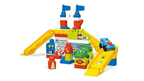 Mega Bloks Raceway Garage Building Set