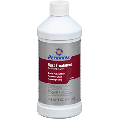 Permatex 81773-12PK Rust Treatment - 16 oz., (Pack of 12) by Permatex