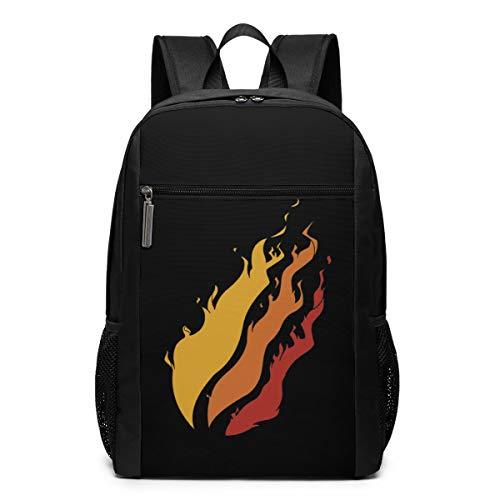17 Inch Casual Fire_Prest0nP1ayz School Bags For Girls/Boys/Women/Men Rucksack Backpack Travel/Hiking Large Capacity Daypacks Backpack Bookbag Zipper
