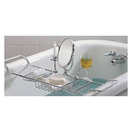 Amazon.com: Taymor Ultimate Bathtub Caddy, Chrome: Home & Kitchen