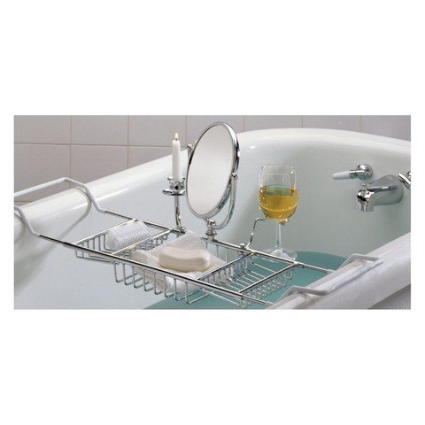 Taymor Ultimate Bathtub Caddy, Chrome