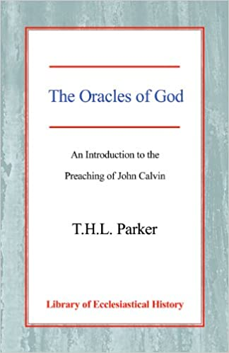 The Oracles of God: An Introduction to the Preaching of John