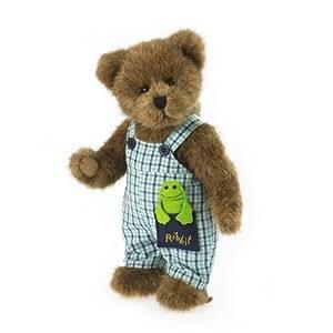 Enesco Boyds Plush 10-Inch Bear with Frog