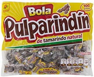 Bolsa de bolas de tamarindo Pulparindin de 100 unidades: Amazon.es: Alimentación y bebidas