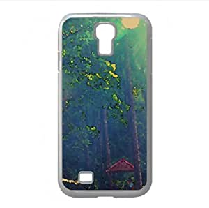 Hut Watercolor style Cover Samsung Galaxy S4 I9500 Case (Forests Watercolor style Cover Samsung Galaxy S4 I9500 Case)