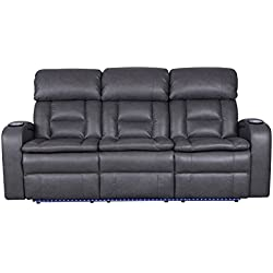 Zenith Power Reclining Sofa