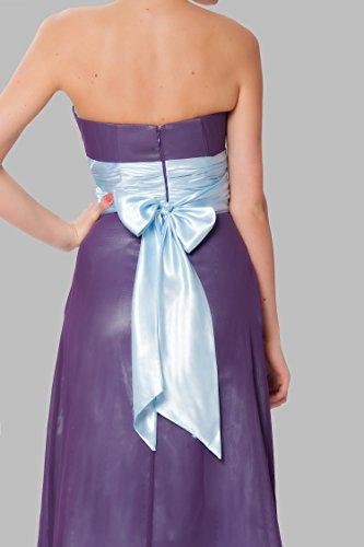 damas Hasta las vestido honor COJ1514 tirantes rodilla Lavanda Gorgeous SEXYHER de la de c¨®ctel sin qTwzxa1t