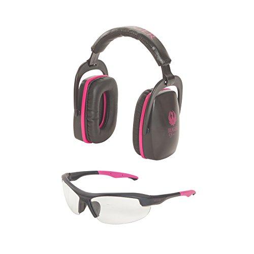 Allen Company Ruger Conix Ballistic Shooting Muff & Glasses Combo