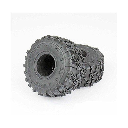 Pit Bull RC Rock Beast XOR, 1.9 Scale, Alien Kompound with Foam Inserts (2) (Rc Pit Bull Tires)