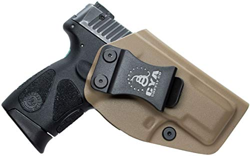 CYA Supply Co. IWB Holster Fits: Taurus G2C & Millennium G2 PT111 / PT140 - Veteran Owned Company - Made in USA - Inside Waistband Concealed Carry Holster