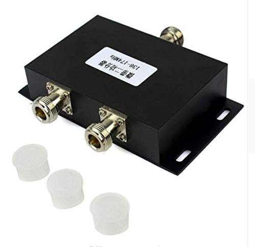 Matsutec 2 Way VHF Antenna Power Splitter Radio Repeater Power Divider for Radio Repeater Station 136-174MHz Microstrip Power Splitter