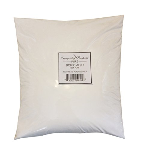 Tranquility Products 10lbs Boric Acid Powder