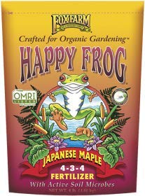 Fox Farm 752289500411 FX14055 Happy Frog Japanese Maple Fertilizer, -