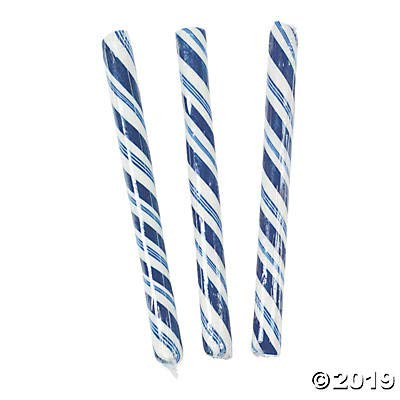 Candy Canes (80 individually wrapped sticks) Fun for parties, weddings and gender reveal