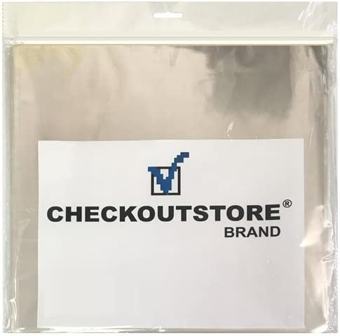 mediaxpo 300 Clear Plastic OPP for 12 Vinyl 33 RPM Records Outer Sleeves
