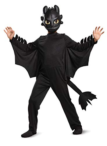 Toothless Classic How to Train Your Dragon Child Costume Black]()