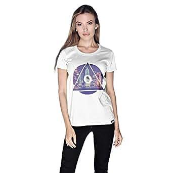 Creo Doha T-Shirt For Women - S, White