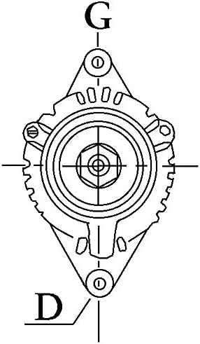 Lichtmaschine HC-CARGO 110620 Kubota V1502 Yanmar 2TN66E 3TNA72 DENSO 12 Volt