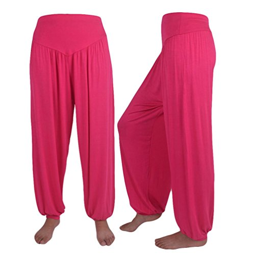 HLHN Pink Donna Pantaloni Hot HLHN Hot Pink Donna Pantaloni x1OwAIqPx