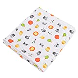 Radish Stars Ultra Soft Bamboo Fabric Baby Pads Mini & Portable Mattresses - Hypoallergenic and Strong Absorption Toddler Kids Pets 28'' x 47'' Animal 2
