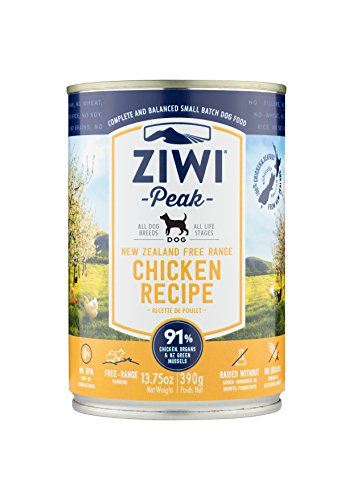 Ziwi Peak Moist Free-Range Chicken For Dogs 13.75Oz Can 12 Case -