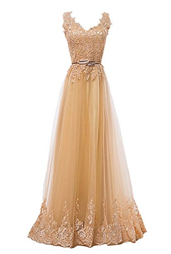 Gold Formal Gown - 5