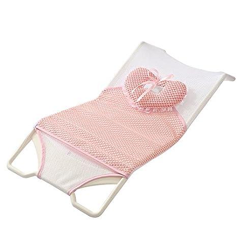 Moonvvin - Soporte para bañera de bebé recién nacido, asiento de ...