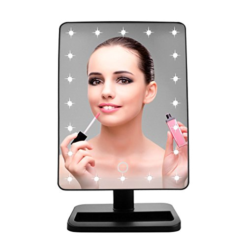 Lighted Jmkcoz Mirrors Rotation Cosmetic product image