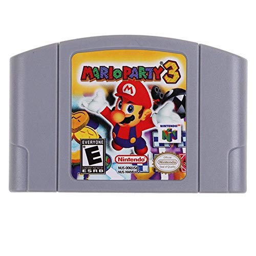 (Mario Party 3 Game Card For Nintendo N64 - US Version)