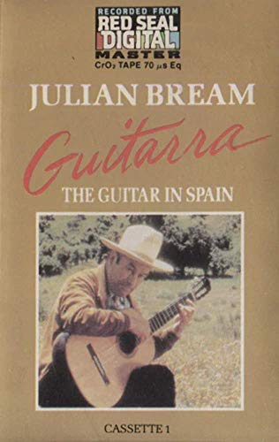 Julian Bream: Guitarra, The Guitar in Spain, Tape 1 - Audio Cassette Tape (Julian Bream Guitarra The Guitar In Spain)