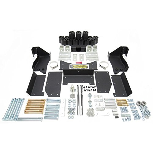 Performance Accessories, Chevy/GMC Silverado/Sierra 2500HD/3500HD Diesel 2WD and 4WD 3″ Body Lift Kit, fits 2011 to 2014, PA10253, Made in America