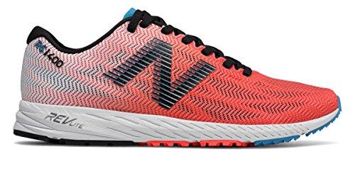 付属品幸運なことにイディオム(ニューバランス) New Balance 靴?シューズ レディースランニング 1400v6 Vivid Coral with Black and Maldives Blue ヴィヴィッド コーラル ブラック ブルー US 6 (23cm)