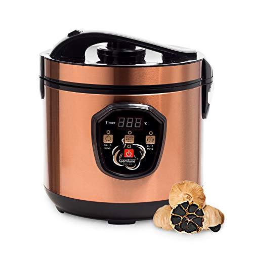(Gemtune Black Garlic Automatic Fermenter, Black Garlic Roaster, Garlic Maker Box, Smart Fermentation Machine, Health Food Maker, Home/Kitchen Utensil)