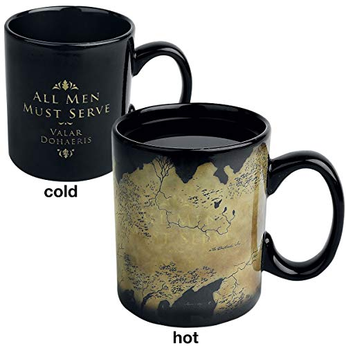 Game of Thrones Westeros Map - Heat-Change Mug Mug Black