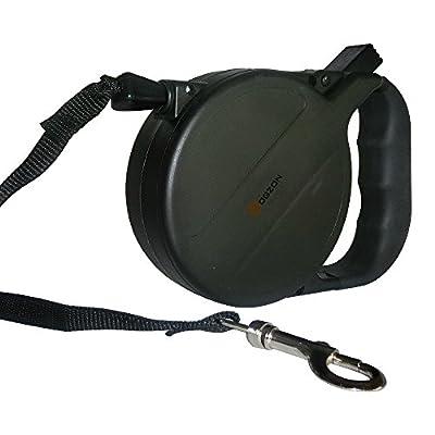 Links New Retractable Dog Leash - 26 Feet Long Extendable - Pet Ribbon Pet Belt or Tape Leash, Stylish & Ergonomic Handle Design, Environmentally Friendly Materials