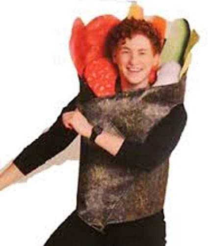 NWT Hyde /& Eek Boutique Adult Sushi Roll Vest Halloween Costume One Size Fits