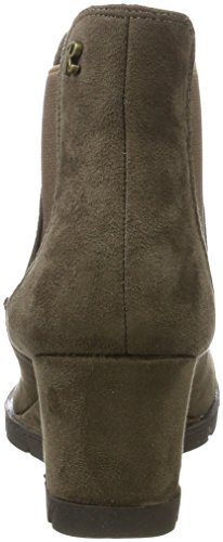 XTI Damen 063701 Chelsea Boots Braun (Taupe)