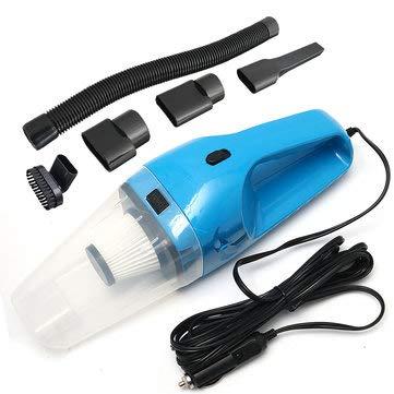 2 120W DC12V Wet And Dry Handheld Portable Car Vacuum Cleaner - Car Electronics Car Vacuum - (Blue)