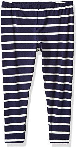 Splendid Girls' Little SA Striped Legging, Navy, 5/6