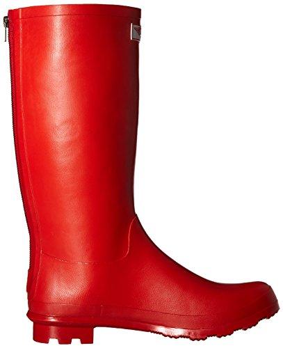 Forever Young - Wellie Regenstiefel für Damen rot